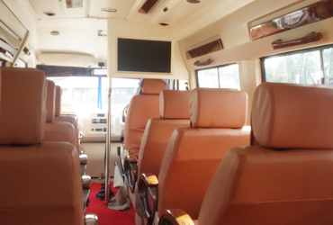 9 seater tempo traveller in gujarat