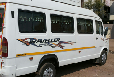 per km rates tempo traveller in gujarat